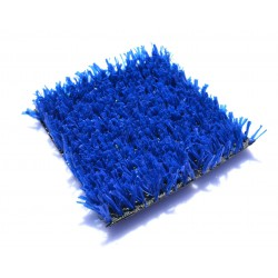 Искусственная трава синяя 20мм.