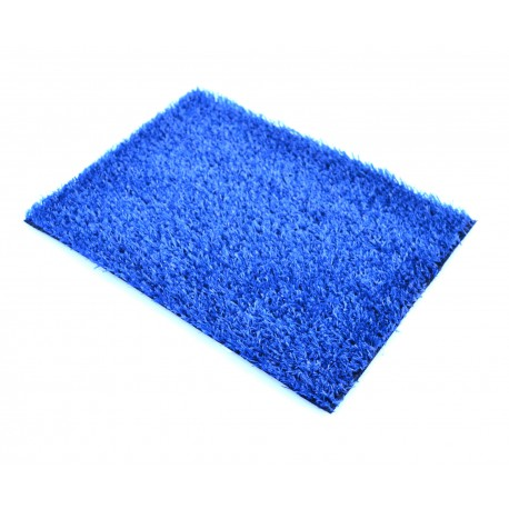 Искусственный газон синий 7мм.