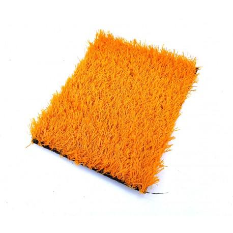 Искусственная трава оранжевая