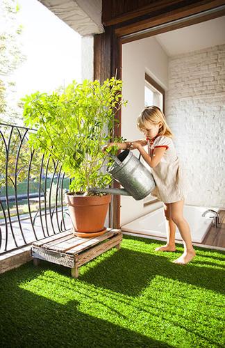 Искусственный газон для детской площадки