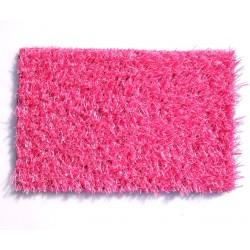 Искусственная трава для ландшафта розовая
