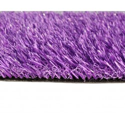 Искусственная трава фиолетовая