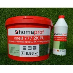 Клей для искусственной травы Хомакол PU777 2K