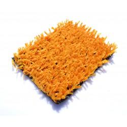 Искусственный газон оранжевый 20мм.