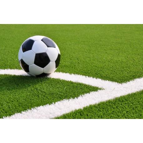 Искусственная трава SoccerGrass 40 белая