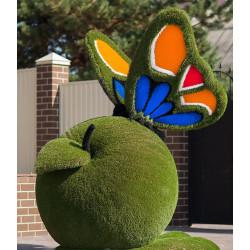 Топиарий Бабочка на яблоке